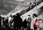 Image of City people mountain climbing Western United States USA, 1919, second 5 stock footage video 65675025422
