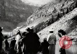 Image of City people mountain climbing Western United States USA, 1919, second 6 stock footage video 65675025422