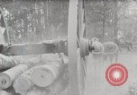 Image of Transporting cut tree logs United States USA, 1919, second 4 stock footage video 65675025423