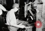 Image of Car wheel manufacturing assembly line Detroit Michigan USA, 1919, second 6 stock footage video 65675025427