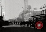 Image of Busy market street near Ford Factory Michigan United States USA, 1926, second 9 stock footage video 65675025428