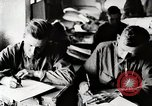 Image of American World War 1 soldiers write letters United States USA, 1917, second 3 stock footage video 65675025432
