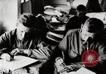 Image of American World War 1 soldiers write letters United States USA, 1917, second 4 stock footage video 65675025432