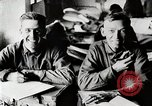 Image of American World War 1 soldiers write letters United States USA, 1917, second 7 stock footage video 65675025432
