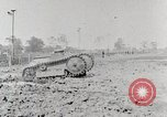 Image of World War 1 U.S. Army Ford tank testing United States USA, 1918, second 7 stock footage video 65675025440