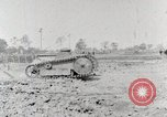 Image of World War 1 U.S. Army Ford tank testing United States USA, 1918, second 9 stock footage video 65675025440