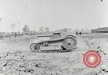 Image of World War 1 U.S. Army Ford tank testing United States USA, 1918, second 11 stock footage video 65675025440