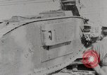 Image of British Mark lV tank demonstration World War 1 United States USA, 1917, second 4 stock footage video 65675025443