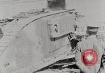 Image of British Mark lV tank demonstration World War 1 United States USA, 1917, second 8 stock footage video 65675025443