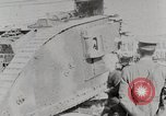 Image of British Mark lV tank demonstration World War 1 United States USA, 1917, second 9 stock footage video 65675025443