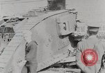 Image of British Mark lV tank demonstration World War 1 United States USA, 1917, second 10 stock footage video 65675025443