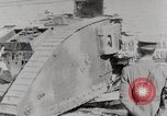 Image of British Mark lV tank demonstration World War 1 United States USA, 1917, second 11 stock footage video 65675025443