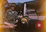 Image of United States Air Force airmen fuse 500 lb GP bombs Phu Cat Vietnam, 1968, second 3 stock footage video 65675025450