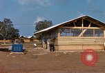 Image of 819th CES construction area Phu Cat Vietnam, 1966, second 9 stock footage video 65675025460