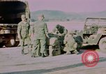 Image of Four US security policemen Phu Cat Vietnam, 1968, second 9 stock footage video 65675025464