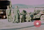 Image of Four US security policemen Phu Cat Vietnam, 1968, second 10 stock footage video 65675025464