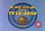 Image of Army training film United States USA, 1974, second 2 stock footage video 65675025487