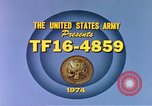 Image of Army training film United States USA, 1974, second 5 stock footage video 65675025487
