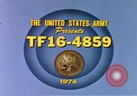 Image of Army training film United States USA, 1974, second 6 stock footage video 65675025487
