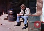 Image of hoodlums mugging man  United States USA, 1974, second 10 stock footage video 65675025490