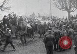 Image of German forces advance  at outbreak of World War I Belgium, 1914, second 4 stock footage video 65675025507