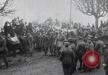 Image of German forces advance  at outbreak of World War I Belgium, 1914, second 5 stock footage video 65675025507