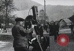Image of French gunners operate an anti-aircraft machine gun France, 1916, second 1 stock footage video 65675025514