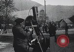 Image of French gunners operate an anti-aircraft machine gun France, 1916, second 7 stock footage video 65675025514