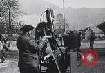 Image of French gunners operate an anti-aircraft machine gun France, 1916, second 8 stock footage video 65675025514