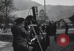 Image of French gunners operate an anti-aircraft machine gun France, 1916, second 9 stock footage video 65675025514