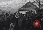 Image of French troops attend mass in a field during World War I France, 1916, second 6 stock footage video 65675025517