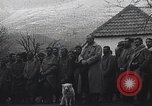Image of French troops attend mass in a field during World War I France, 1916, second 9 stock footage video 65675025517