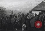 Image of French troops attend mass in a field during World War I France, 1916, second 11 stock footage video 65675025517
