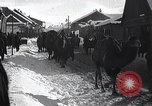 Image of Russian Army moving supplies by camel Russia, 1916, second 2 stock footage video 65675025520