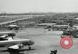 Image of Airplanes at Air show Tokyo Japan, 1953, second 6 stock footage video 65675025532