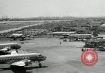 Image of Airplanes at Air show Tokyo Japan, 1953, second 8 stock footage video 65675025532