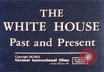 Image of The White House interior and exterior Washington DC USA, 1960, second 6 stock footage video 65675025540