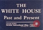 Image of The White House interior and exterior Washington DC USA, 1960, second 7 stock footage video 65675025540