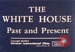 Image of The White House interior and exterior Washington DC USA, 1960, second 8 stock footage video 65675025540