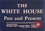 Image of The White House interior and exterior Washington DC USA, 1960, second 9 stock footage video 65675025540