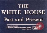 Image of The White House interior and exterior Washington DC USA, 1960, second 10 stock footage video 65675025540