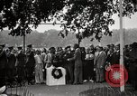 Image of Dedication of temporary Zero Milestone Washington DC USA, 1919, second 12 stock footage video 65675025543