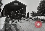 Image of U.S. Army Motor Transport convoy Chambersburg Pennsylvania USA, 1919, second 4 stock footage video 65675025545