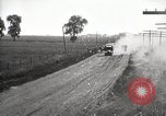 Image of U.S. Army motor convoy truck overturned Fulton Illinois USA, 1919, second 5 stock footage video 65675025547