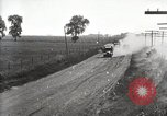 Image of U.S. Army motor convoy truck overturned Fulton Illinois USA, 1919, second 6 stock footage video 65675025547