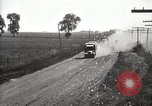 Image of U.S. Army motor convoy truck overturned Fulton Illinois USA, 1919, second 9 stock footage video 65675025547