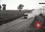 Image of U.S. Army motor convoy truck overturned Fulton Illinois USA, 1919, second 10 stock footage video 65675025547