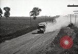 Image of U.S. Army motor convoy truck overturned Fulton Illinois USA, 1919, second 11 stock footage video 65675025547
