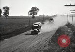 Image of U.S. Army motor convoy truck overturned Fulton Illinois USA, 1919, second 12 stock footage video 65675025547