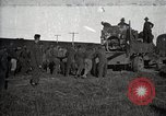 Image of Army uses Holt tractor to pull trucks from mud North Platte Nebraska USA, 1919, second 1 stock footage video 65675025550